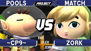 Project M - ~CP9~ (Olimar) vs Zork (T.Link) - TFZ3 Pools Match