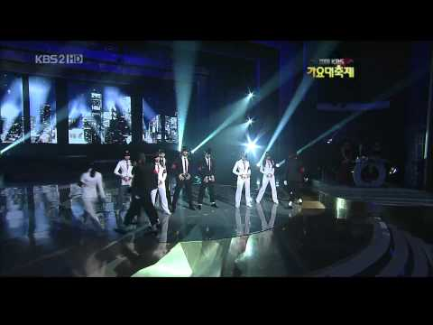 SHINee, SNSD & Super Junior   Smooth Criminal @ 2009 KBS Gayo Daejun Music Videos