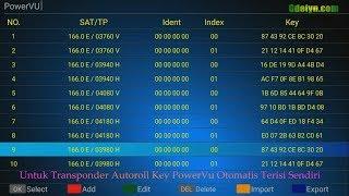 Isi Key PowerVu Receiver Android KIII Pro UHD