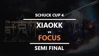 WC3 - Schuck Cup 4 - Semifinal: [ORC] XiaoKK vs. FoCuS [ORC]