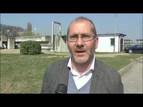 Servizio TG del 17.03.17 -  Acque Veronesi potenzia il depuratore di Povegliano