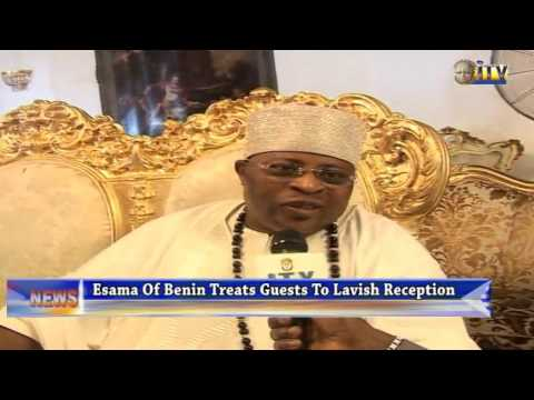 Esama Of Benin Treats Guests To Lavish Reception