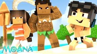Minecraft: Who's Your Family? - A FAMÍLIA DE MOANA!