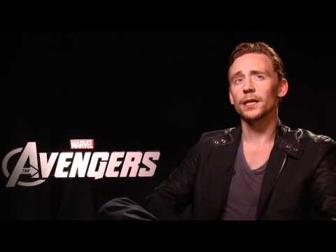 Tom Hiddleston HD Inteview - THE AVENGERS!