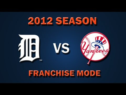 MLB 2K12: Detroit Tigers vs. New York Yankees - Franchise Mode