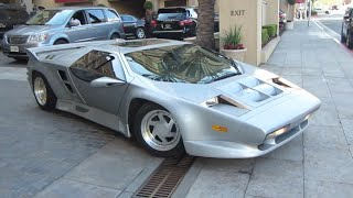 Vector W8 Twin Turbo (w/ engine start, short drive)