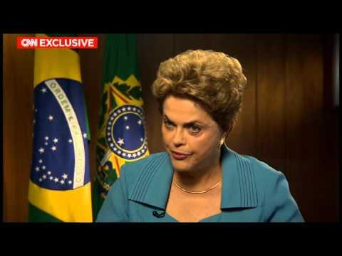 Últimas -  Dilma Rousseff concede entrevista à rede CNN de televisão