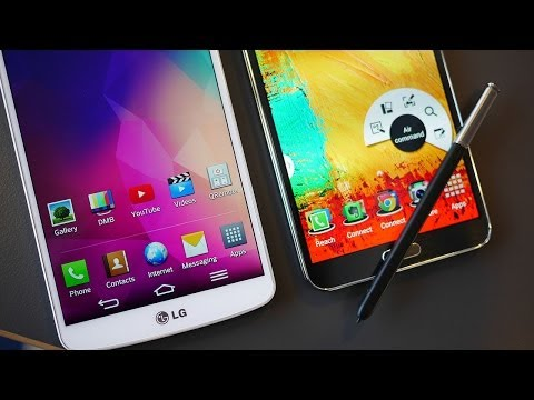 LG G Pro 2 vs Samsung Galaxy Note 3 - Quick Look