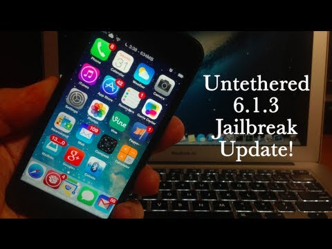 iOS 6.1.3 Untethered Jailbreak - News Update!!