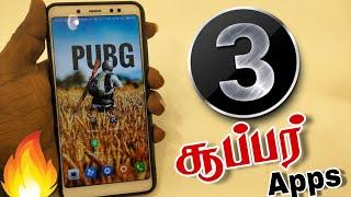 3 சூப்பர் APPS | Top 3 Best Apps for Android in 2018| Tamil android tech