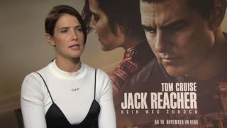 Cobie Smulders on kissing Tom Cruise