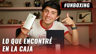 Huawei Mate 10, poderoso Android. Unboxing en español
