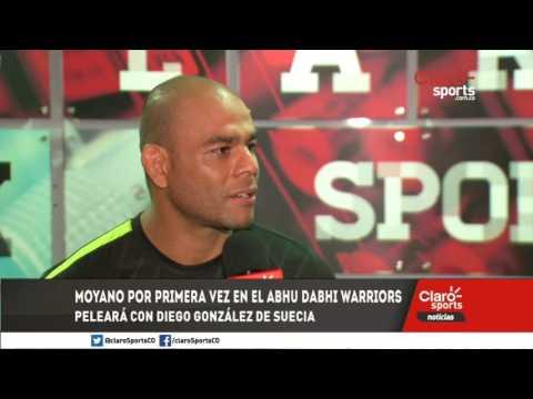 Pelador colombiano Carlos Moyano debutará en el Abu Dhabi Warriors con transmisión de Claro Sports