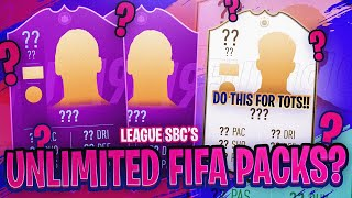 UNLIMITED FIFA PACKS?