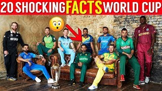 20 Shocking Facts About Cricket World Cup | CWC 2019