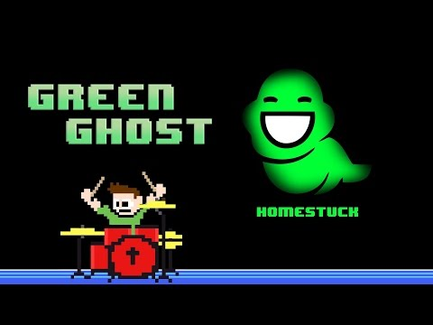 Homestuck - Green Ghost (Drum Cover) -- The8BitDrummer