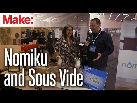 MAKE  @ Engadget Expand: Nomiku - Sous Vide