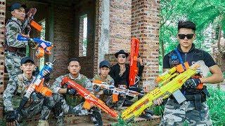 LTT Nerf War : SEAL X Warriors Nerf Guns Fight Dr Lee Group Steal Weapons At Base