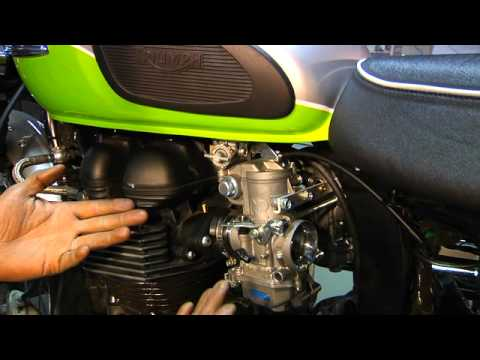 How To Install Carburetors On A Motorcycle Part 1   Motomethod.com