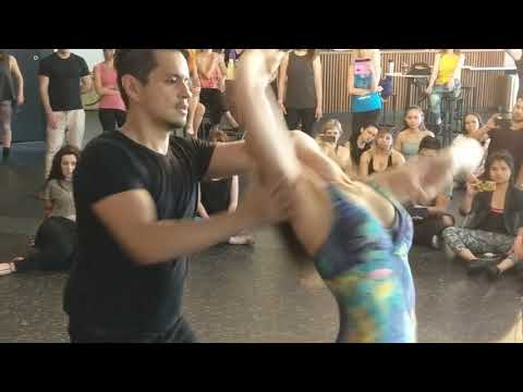 SSZF2018: Jane & Duncan in Saturday afternoon workshop demo ~ Zouk Soul
