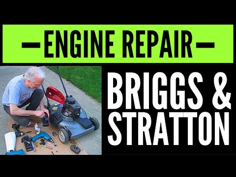 How to Fix Briggs & Stratton Small Engine that Only Runs Off the Primer