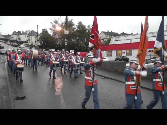 Loyal Sons Of Benagh FB @ Pride Of The Hill FB Parade 2012