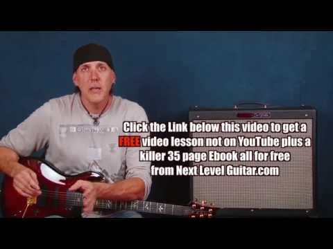 Learn to jam lead guitar lesson arpeggio soloing twists lick ideas devices on PRS 513 pt4