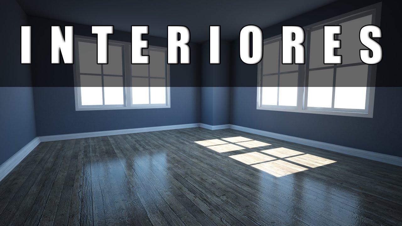 3ds max iluminaci n de interiores youtube - Iluminacion de interiores ...
