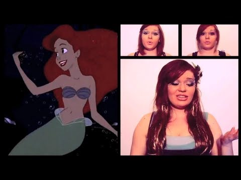 Disney s The Little Mermaid - Part of Your World A Cappella Cover by Heather Traska
