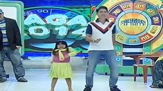 Ryzza and Bossing dancing | Bulagaan 2014
