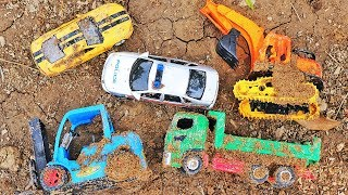 Toys Car Fall Down Trapper Hole - The Hulk , Car toys , Construction Vehicles Toys