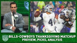 Cowboys-Bills Thanksgiving Preview, Picks, Analysis I Pick Six Podcast