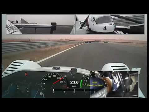 Onboard : Saeed AlMouri Radical SR3 Driven like a Rally Car Zain Reem