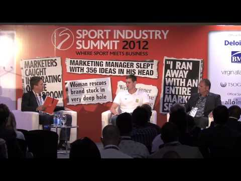 Sport Industry Summit 2012: Van der Burgh & Graham Hill