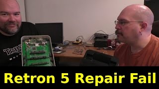 Retron 5 Repair Fail
