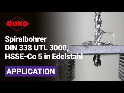 Kraftwerk ® Spiralbohrer Edelstahl Metallbohrer Bohrer und Kernlochbohrer HSSG