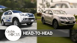 Auto Focus | Head to Head: Isuzu MU-X VS. Nissan Terra