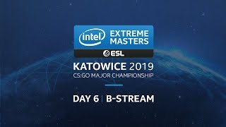 LIVE: IEM Katowice 2019 - Legends Stage - Secondary Stream