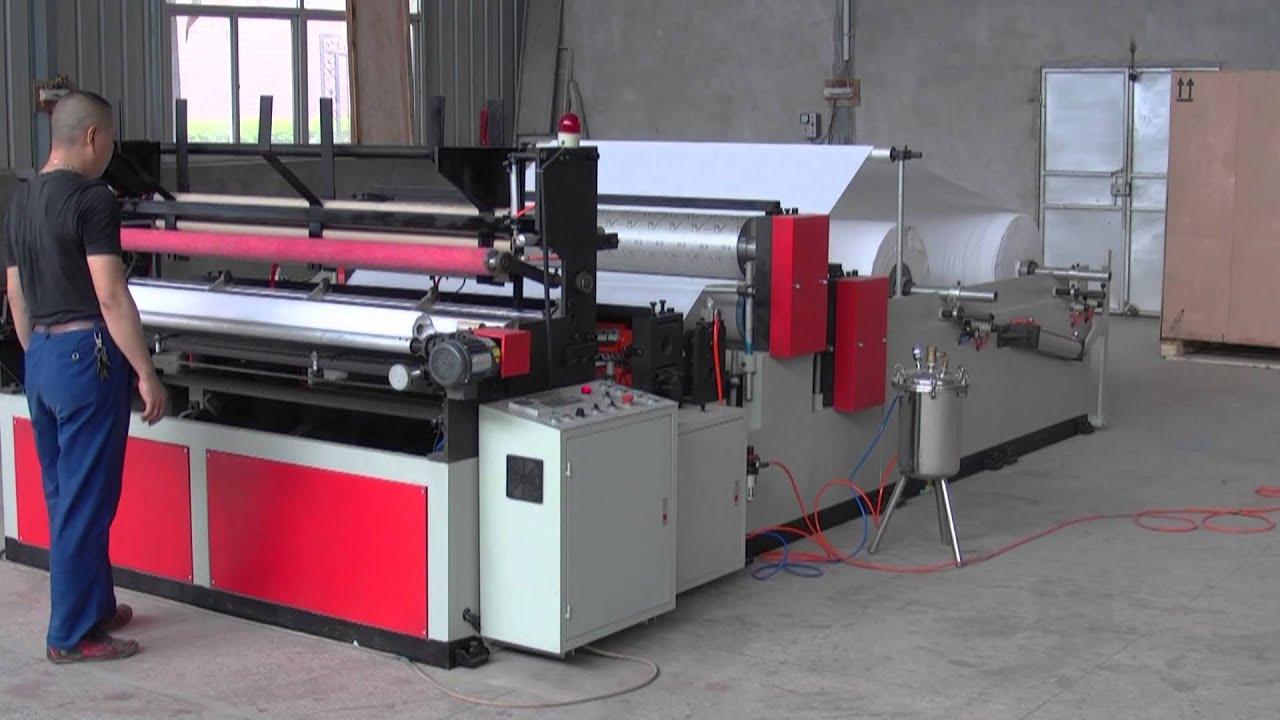 Xy Tq B Automatic Small Toilet Paper Roll Making Machine