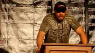 Tim Sylvia Post Fight Interview Affliction Banned