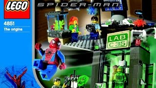 4851 LEGO Spider Man and Green Goblin (Instruction Booklet)