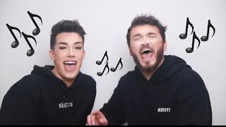 James Charles & Zane Hijazi Singing For 1 Minute Straight