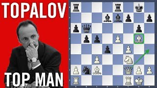 Topalov Top Man - Topalov vs Mamedyarov   Shamkir Chess 2018   Round 4