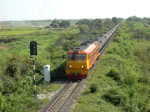 SRT  Oil Train  Passing KM 316 in Northern Line