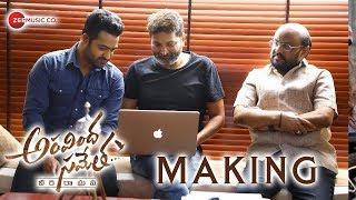 Aravindha Sametha Movie Making   Jr. NTR, Pooja Hegde   Trivikram