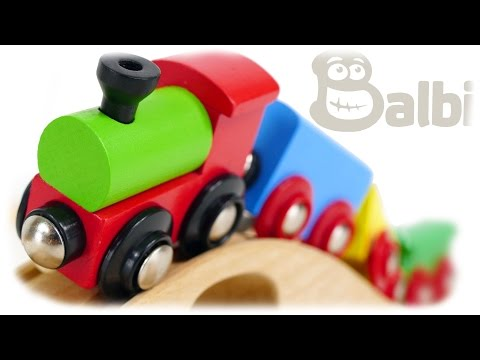 Balbi Train Wooden Railway 37 items
