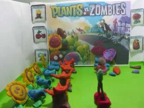 Plants Vs Zombies: There's a Zombie on Your Lawn (Claymation) Music Videos