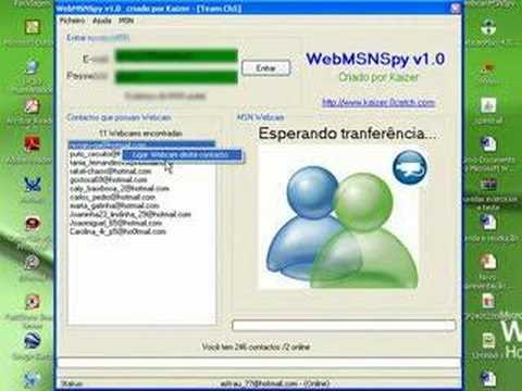 WebMSNSpy v1.0 - kaizer