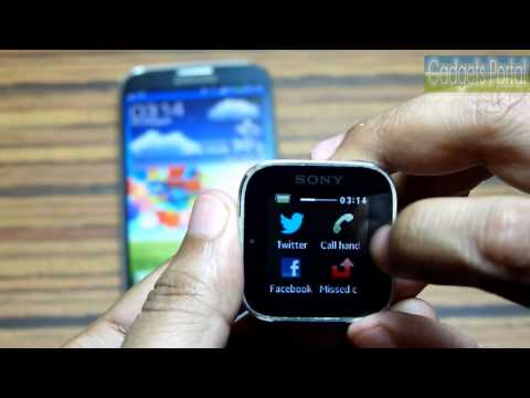 Sony SmartWatch Review + GadgetsPortal.in Giveaway-2013!
