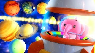solar system song | the planets song | preschool learning